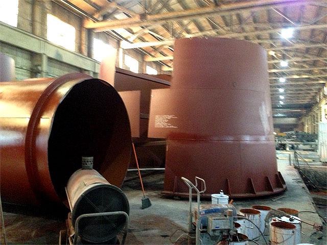 изготовление дымовой трубы для котельной